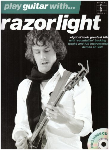 Play Guitar With. Razorlight (Book and CD). Sheet Music, CD for Guitar Tab