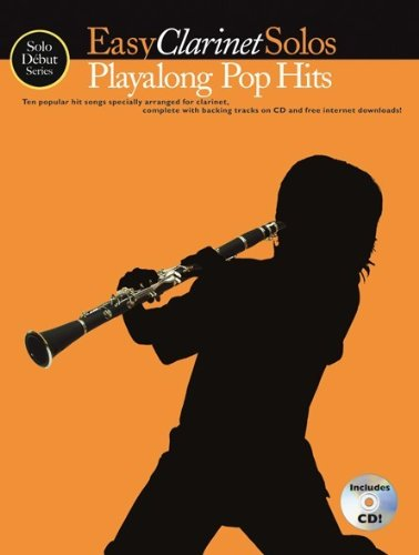Playalong Pop Hits (+CD) :for easy clarinet