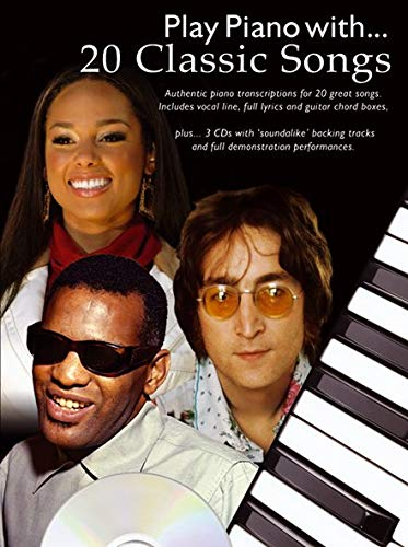 9781847723840: 20 Classic Songs Play Piano With + CD