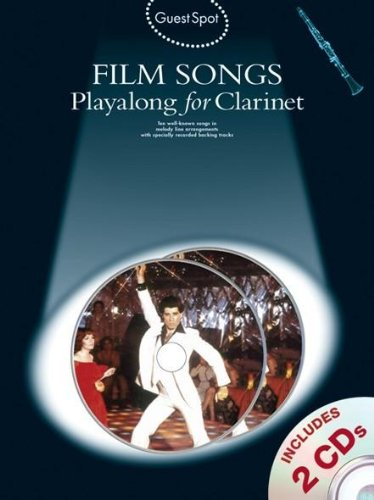 9781847723871: Guest Spot Film Songs Playalong For Clarinet (Book And 2 Cds) Clt Boo