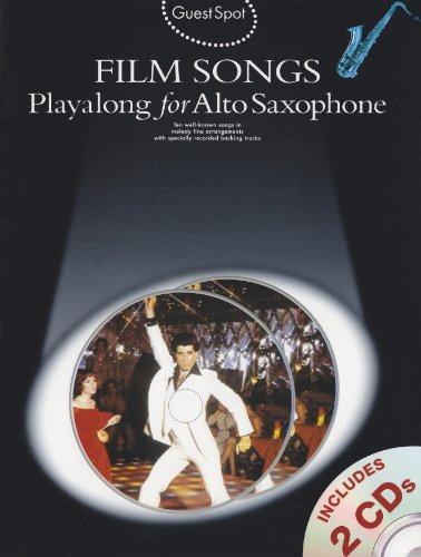 9781847723888: Guest Spot: Film Songs Playalong for Alto Saxophone (Book and 2 Cds) +CD
