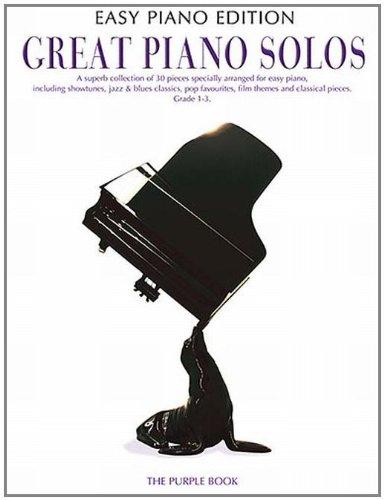 Great piano solos easy piano édition purple book (Easy Piano Edition)