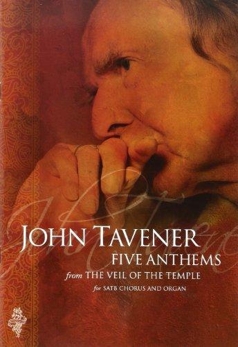9781847726056: Veil of the Temple Anthems Tavener (Satb Chorus & Organ)