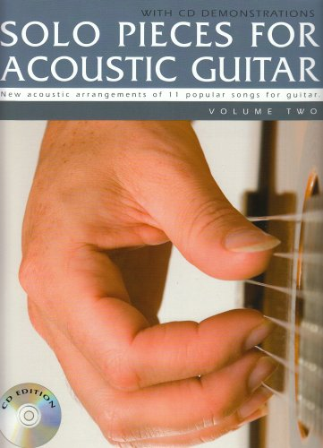 9781847726308: Solo Pieces for Acoustic Guitar - Volume Two (Book & CD)