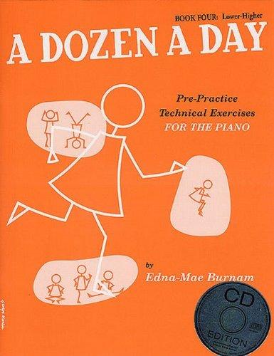 A Dozen A Day Book 4 (Book & CD)