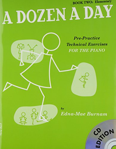 9781847726421: A Dozen A Day: Book Two - Elementary Edition (Book And CD) (Book & CD)