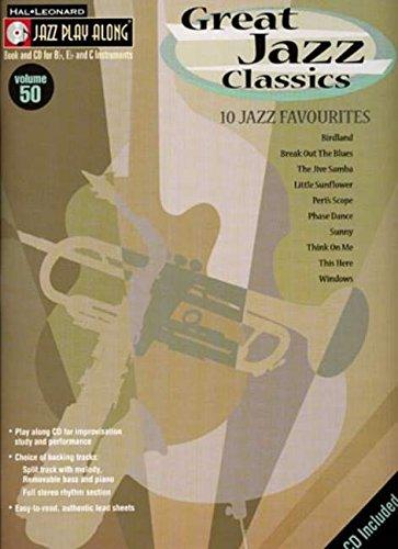 9781847726452: Great Jazz Classics (Jazz Play-Along)