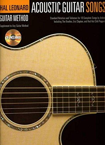 9781847726483: Acoustic Guitar Songs (Hal Leonard Guitar Method)