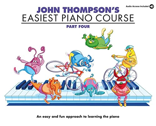 9781847726629: John Thompson's Easiest Piano Course: Part Four (Book And CD)