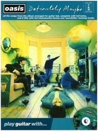 Oasis Definitely Maybe Play Guitar With 2 CD (Play Guitar With Book & CD): Oasis