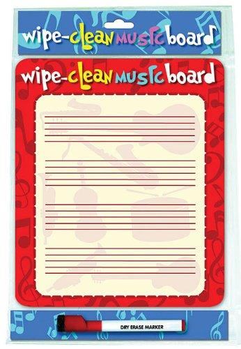 9781847726834: Wipe Clean Music Board: Portrait Edition (Wipe Clean Board)