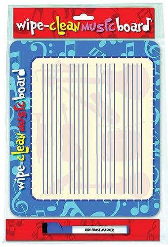 9781847727022: WIPE CLEAN MUSIC BOARD LANDSCAPE EDITION (Wipe Clean Board)