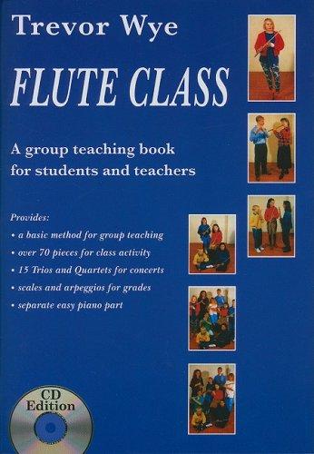 9781847727039: Trevor Wye: Flute Class (Book and 2 CDs) (Book & Cds)