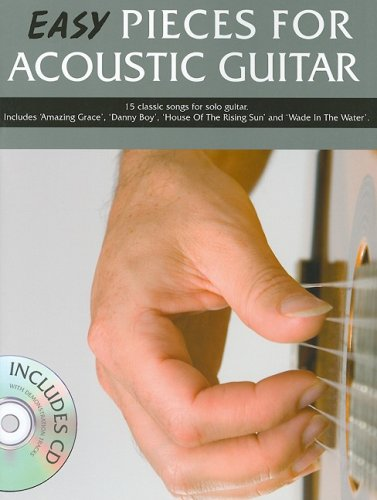9781847727510: EASY PIECES FOR ACOUSTIC GUITAR BK/CD (Book & CD)