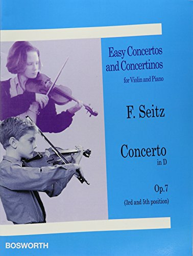 9781847727725: EASY CONCERTOS AND CONCERTINOS FOR VOLIN AND PIANO NO1 CONCERTO IN D OP7 3RD AND 5TH
