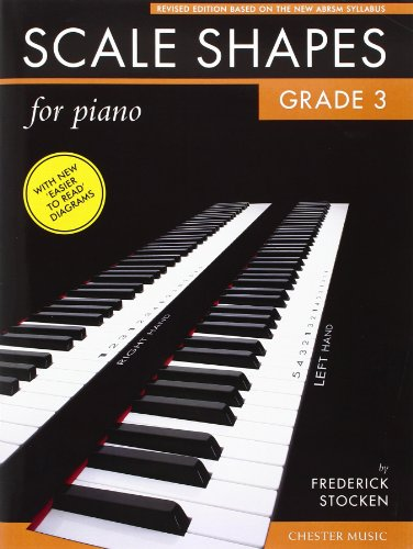 9781847728296: Scale Shapes for Piano Grade 3 2009 Syllabus