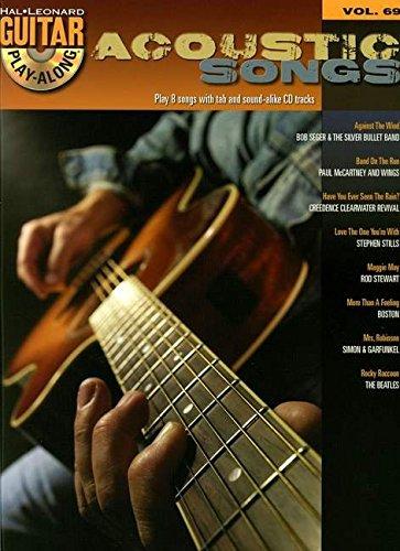 9781847728418: Hal Leonard Guitar Play-Along Volume 69: Acoustic Songs