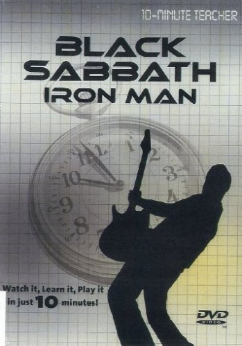 9781847729187: 10-Minute Teacher: Black Sabbath - Iron Man [Reino Unido] [DVD]