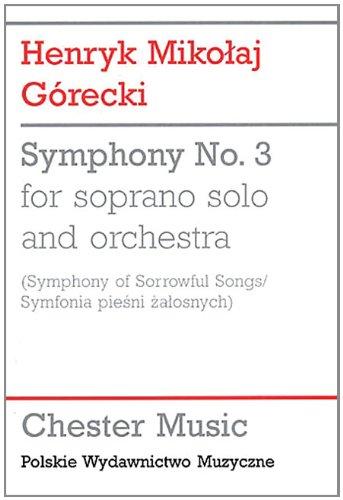 9781847729507: Symphony No. 3 (Symphony of Sorrowful Songs)
