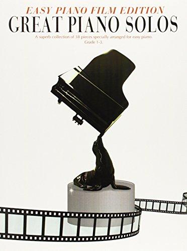 9781847729606: Great Piano Solos Easy Film Edition