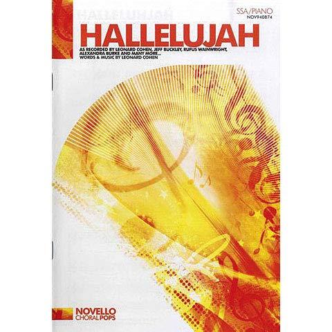 9781847729828: Leonard Cohen: Hallelujah (SSA/Piano)
