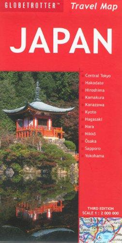 9781847730107: Japan (Globetrotter Travel Map)
