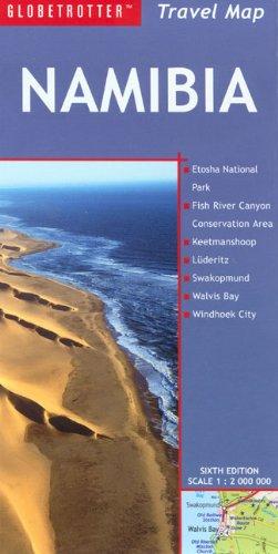 9781847730435: Namibia Travel Map (Globetrotter Travel Map)