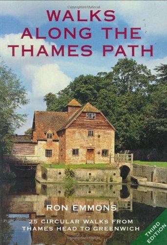 9781847730626: Walks Along the Thames Path