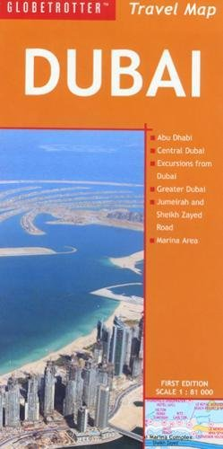 9781847732552: Travel Map Dubai (Globetrotter Travel Map)