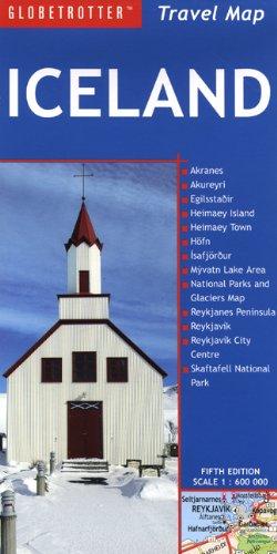 9781847733658: Iceland Travel Map (Globetrotter Travel Map)