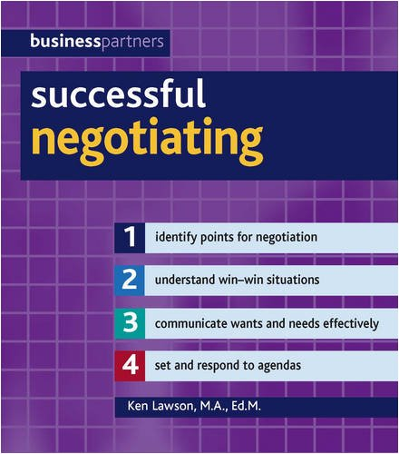9781847734020: Successful Negotiating (Business Partners)