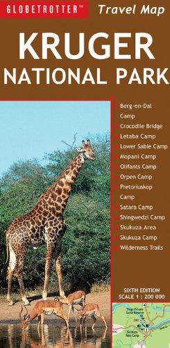 9781847738967: Travel Map Kruger National Park (Globetrotter Travel Map)