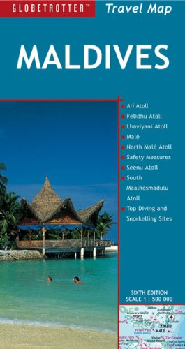 9781847739001: Maldives (Globetrotter Travel Map) (English, German and French Edition)