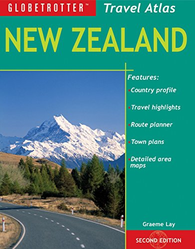 9781847739452: New Zealand (Globetrotter Travel Atlas)