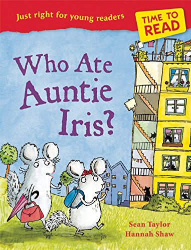 Time to Read: Who Ate Auntie Iris? - Ex Library