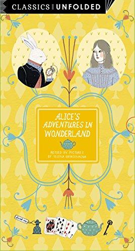 9781847806796: Classics Unfolded: Alice's Adventures in Wonderland