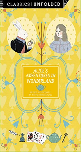 9781847806796: Classics Unfolded: Alice's Adventures in Wonderland