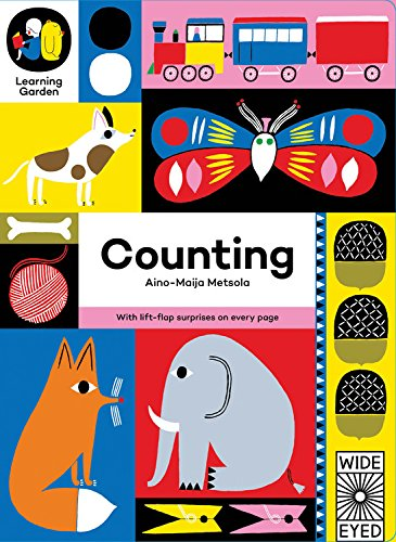 9781847807069: Counting: With lift-flap surprises on every page (The Learning Garden)
