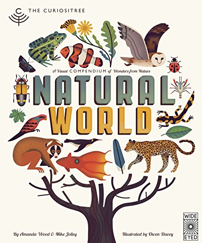 9781847807519: Curiositree: Natural World: A Visual Compendium of Wonders from Nature - Jacket unfolds into a huge wall poster!