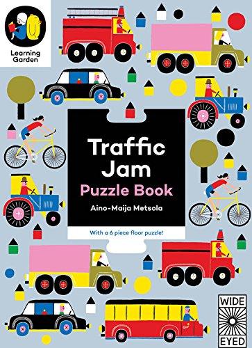 Traffic Jam: Puzzle Book - With a 6 Piece Floor Puzzle!: Aino-maija Metsola