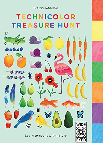 9781847807809: Technicolor Treasure Hunt: Learn to Count with Nature