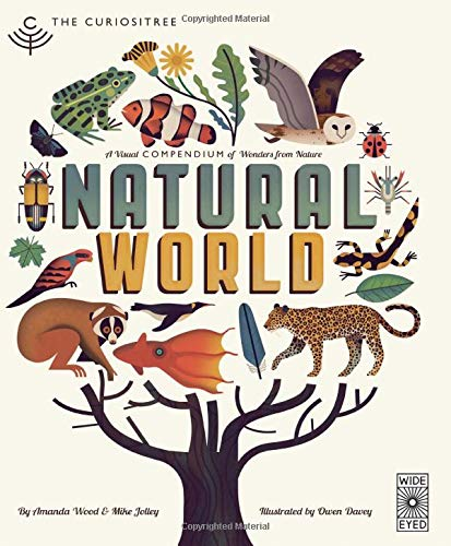 9781847807823: Curiositree: Natural World: A Visual Compendium of Wonders from Nature - Jacket unfolds into a huge wall poster!