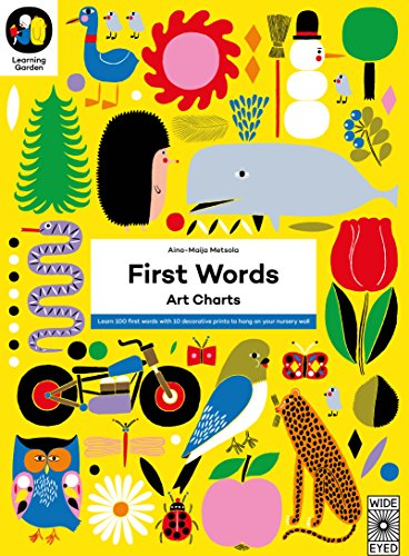 9781847808202: First Words: Art Charts (The Learning Garden)