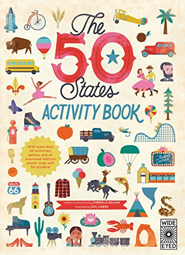 9781847808622: The 50 States: Activity Book: Maps of the 50 States of the USA