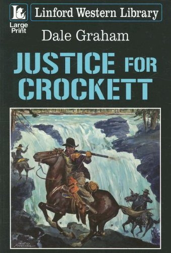 9781847820136: Justice for Crockett (Linford Western Library)