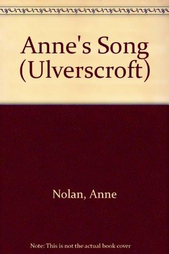 9781847826329: Anne's Song (Ulverscroft)