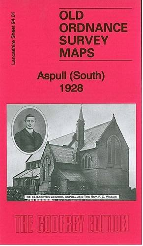 Old Ordnance Survey Maps Haigh /& Aspull Moor Lancashire 1907 Godfrey Edition
