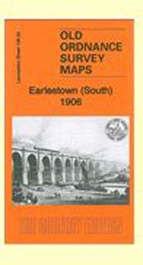 OLD ORDNANCE SURVEY MAP ST HELENS BLACKBROOK PARR 1906 HAYDOCK HEYES GREEN