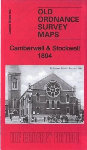 Camberwell & Stockwell 1894: London Sheet 102.2: Pamela Taylor