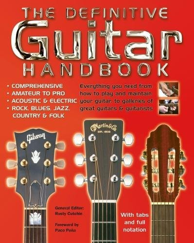 9781847863911: The Definitive Guitar Handbook: Comprehensive - Amateur and Pro - Acoustic and Electric - Rock, Blues, Jazz, Country, Folk (Handbook Series)